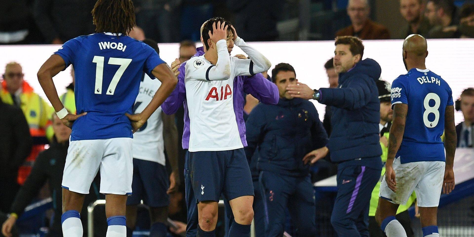 Premier League: le carton rouge de Son retiré, malgré la blessure de Gomes