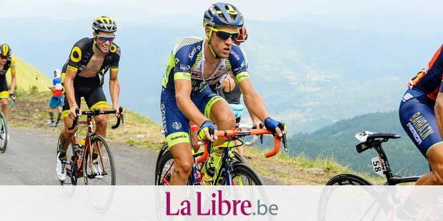 Thomas Degand of Wanty Groupe Gobert at Col Du Portet during the 17th stage of the 105th edition of the Tour de France cycling race, 65km from Bagneres-de-Luchon to Saint Lary Soulan Col du Portet, France, Tuesday 25 July 2018. This year's Tour de France takes place from July 7th to July 29th. Photo : Sirotti / Icon Sport