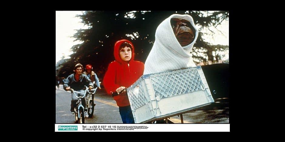 film of Steven Spielberg / E.T. / Henry Thomas / C. Thomas Howell REPORTERS©Alpha