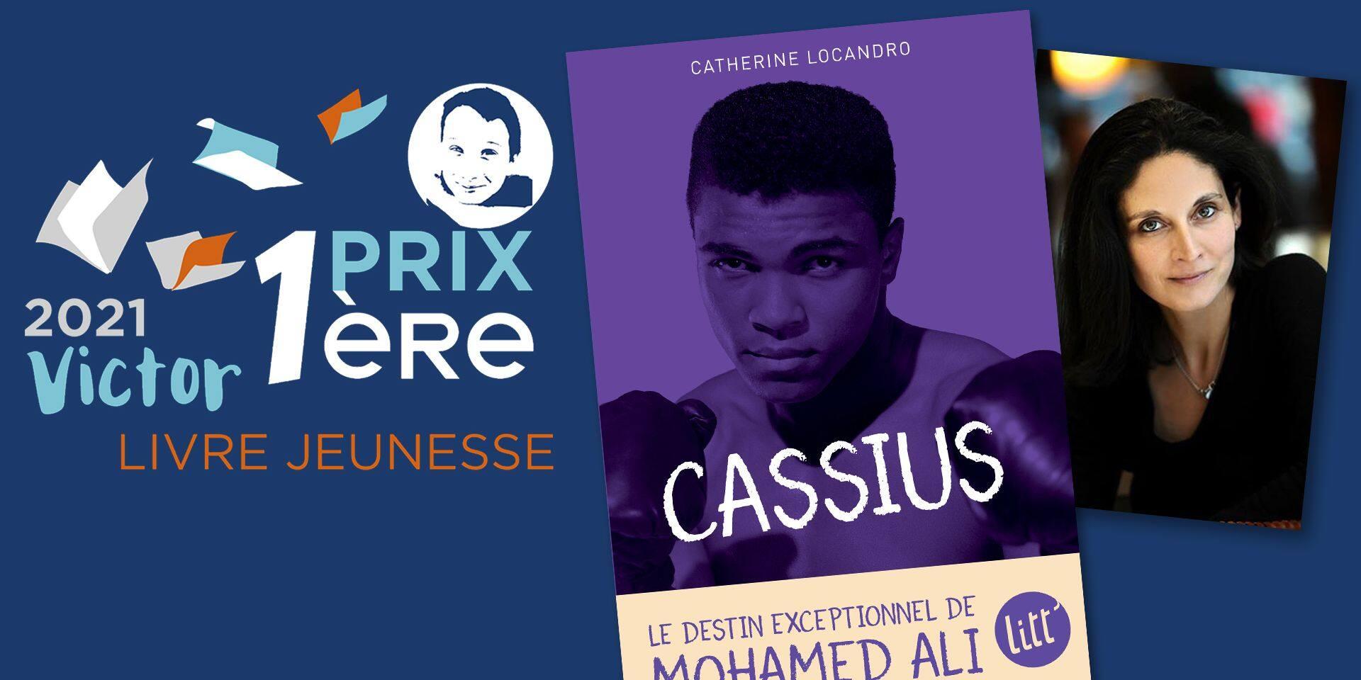 "Avec ""Cassius"", Catherine Locandro remporte le Prix Première Victor"