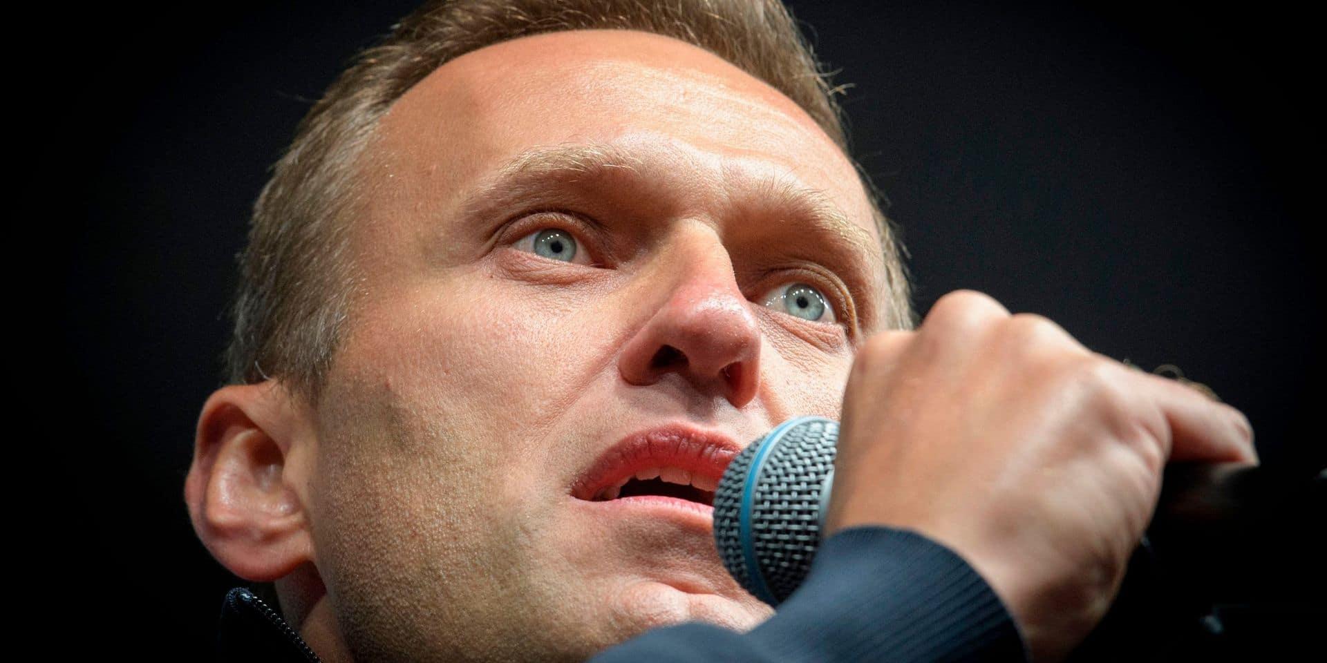 """Selon le Kremlin, le refus de transférer Navalny à l'étranger est une décision """"purement médicale"""""""