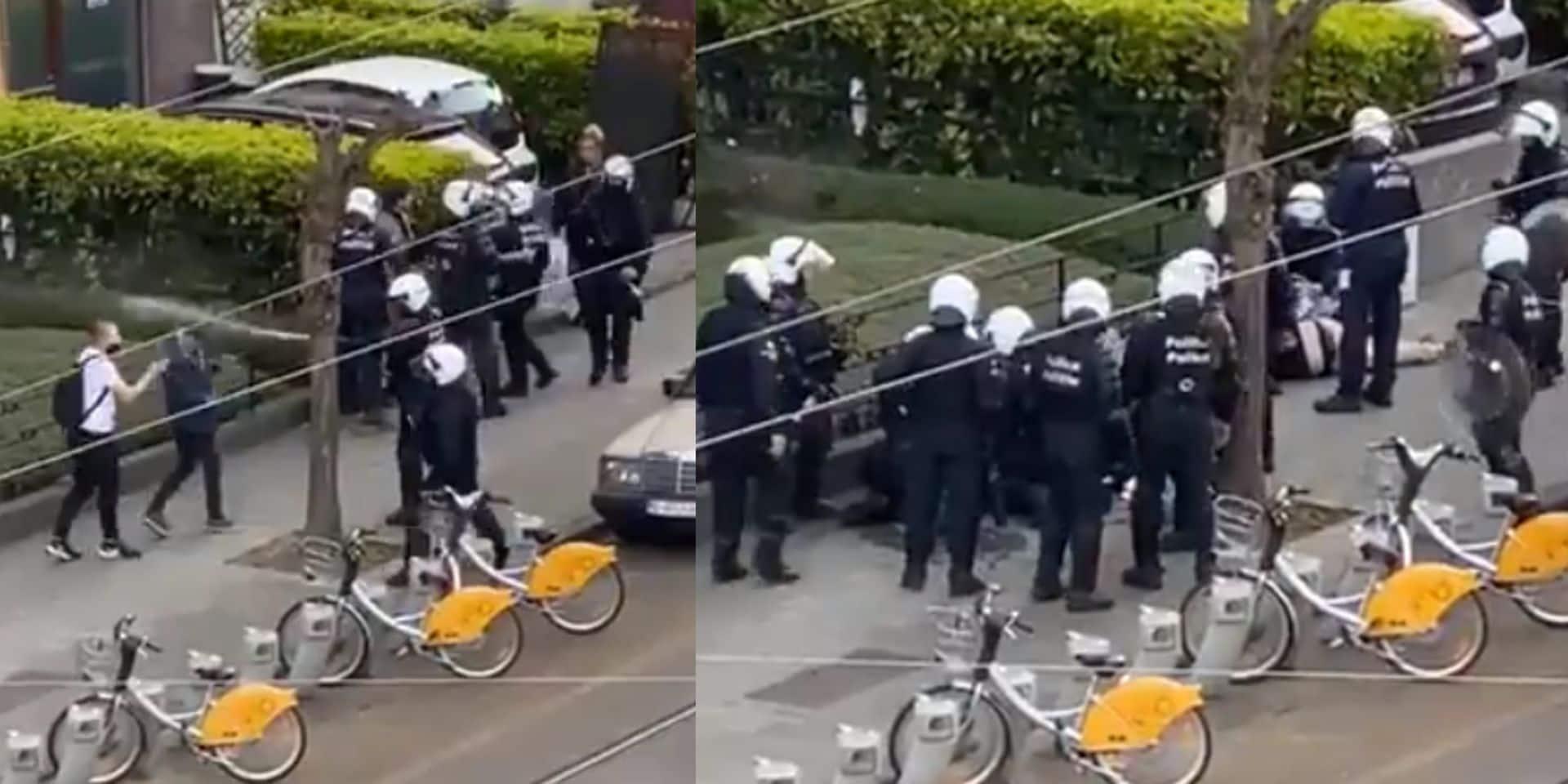 Vives tensions entre policiers et participants de La Boum 2 près du Bois de Cambre: plusieurs vidéos font polémique, la police réagit