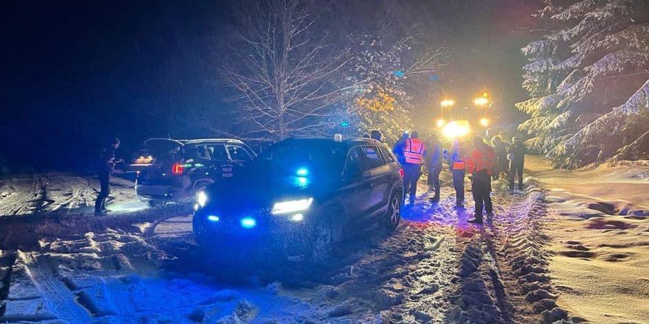 Important déploiement des services de secours pour retrouver quatre personnes disparues dans les Fagnes