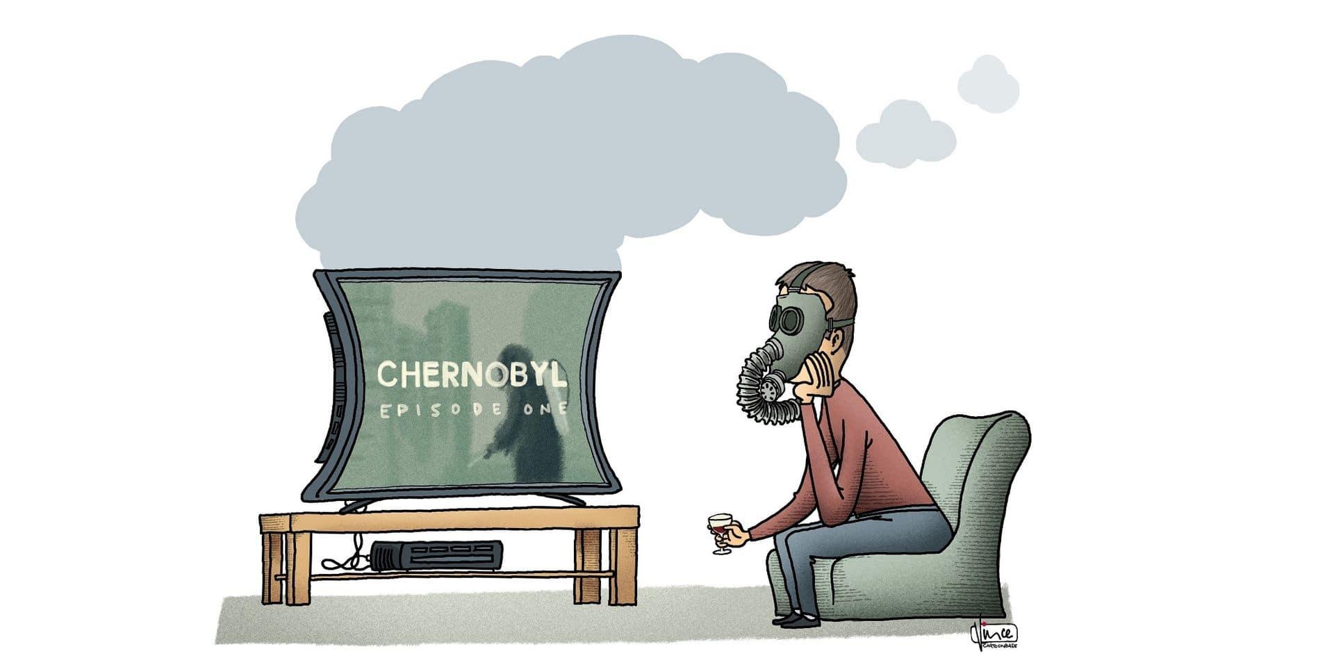 """""""Chernobyl"""", le succès d'une série équivoque (VIDEO)"""
