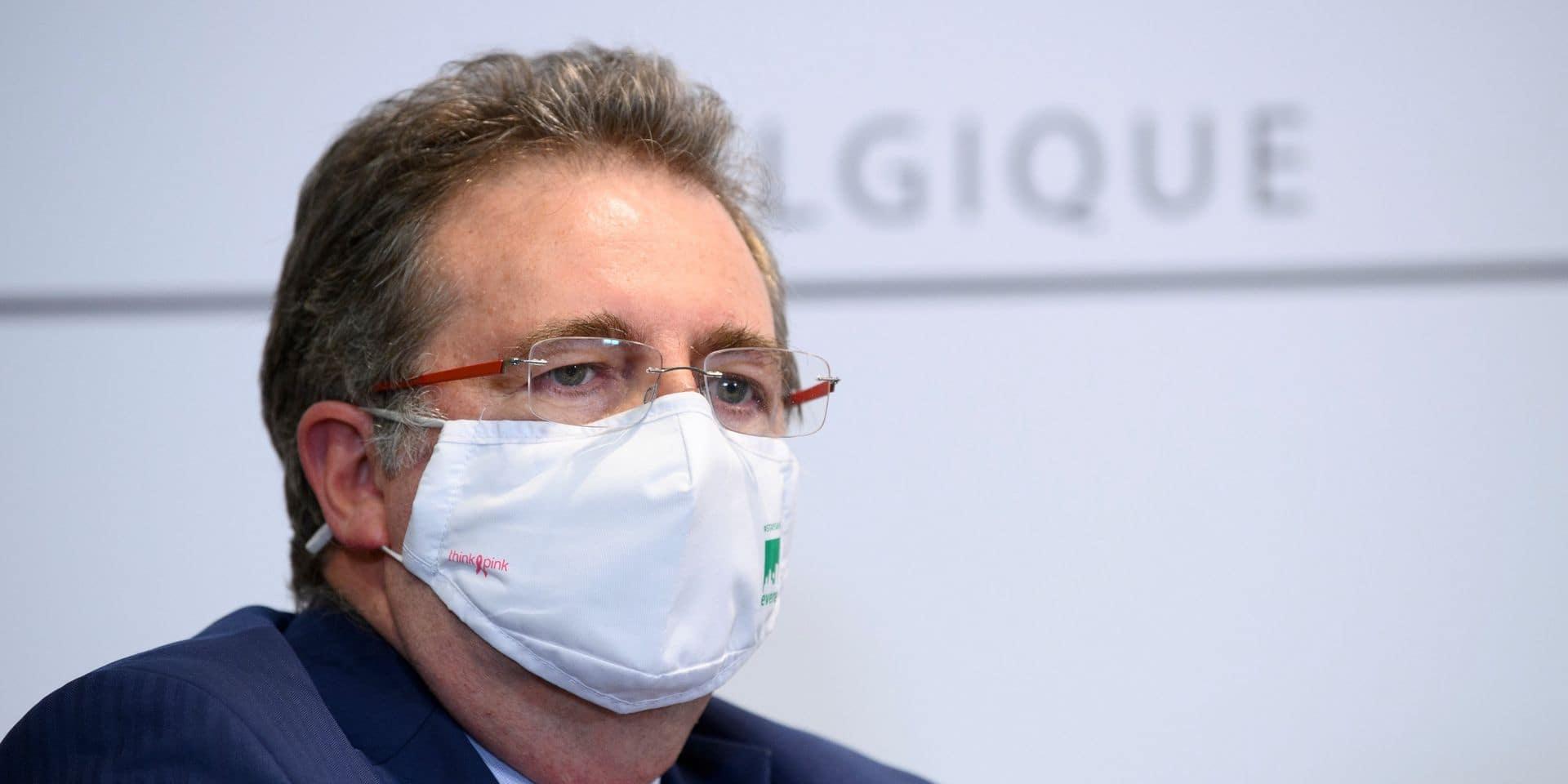 """Rudi Vervoort reproche à Bart De Wever son """"mépris obsessionnel"""" de Bruxelles: """"Il cherchait un bouc émissaire pour détourner l'attention"""""""