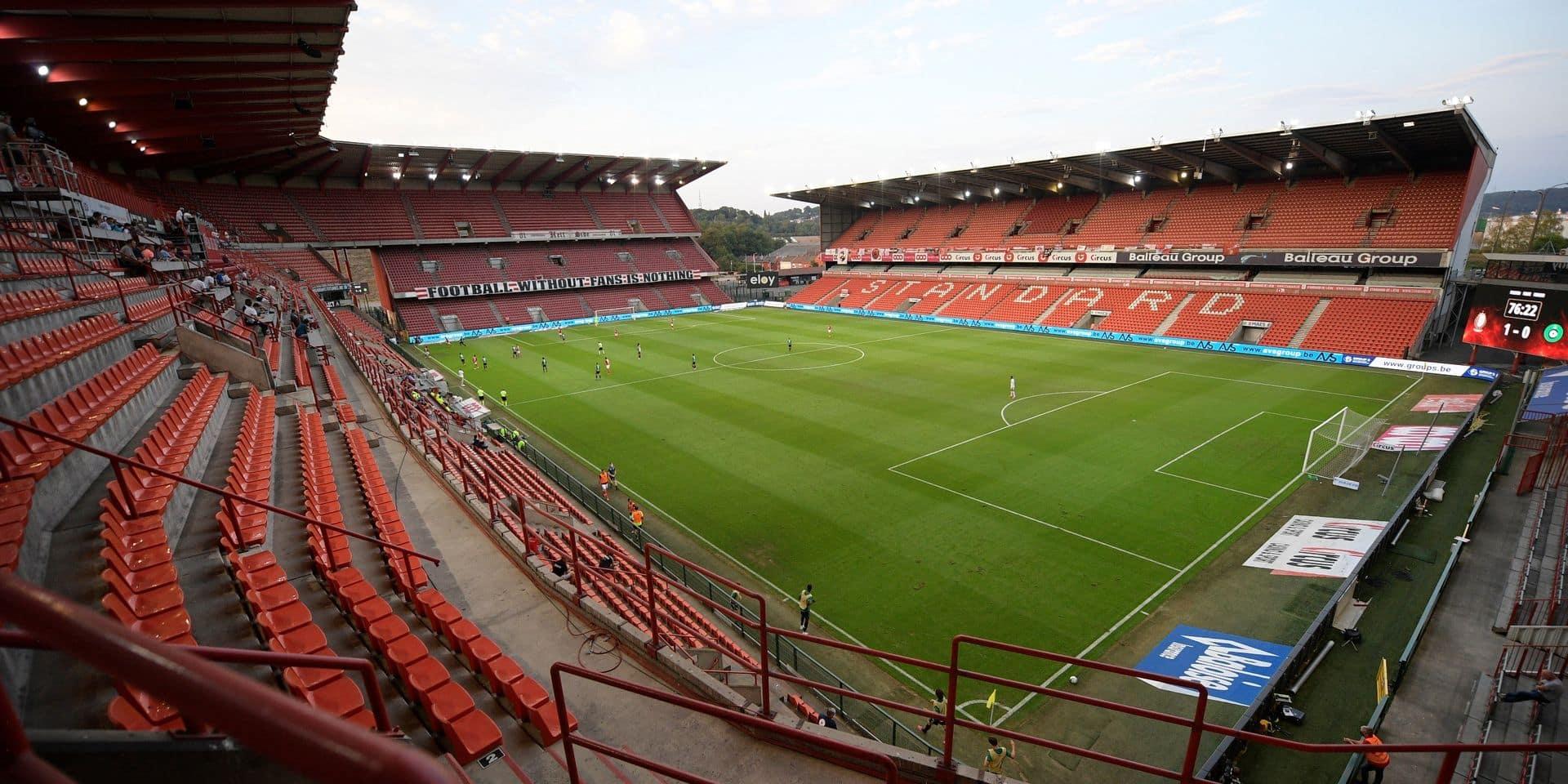 Europa League: 7000 supporters autorisés pour Standard-Rangers