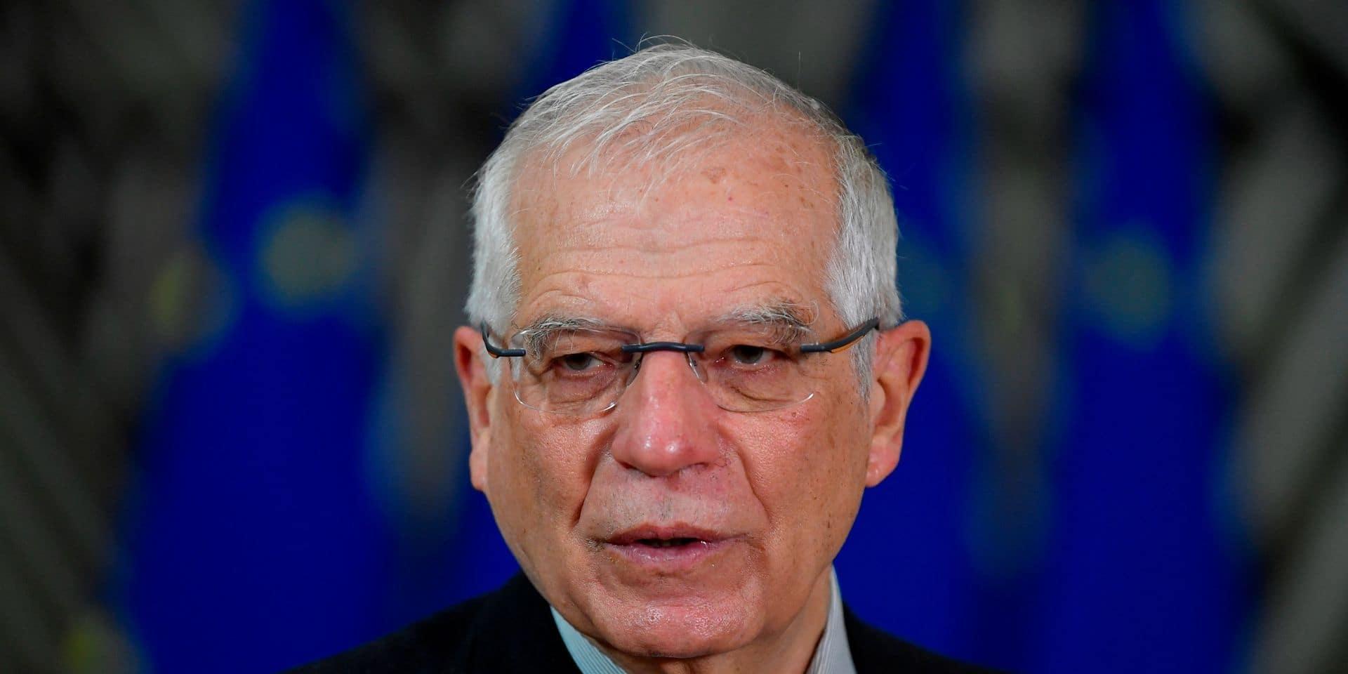 Josep Borrell, le chef de la diplomatie européenne.