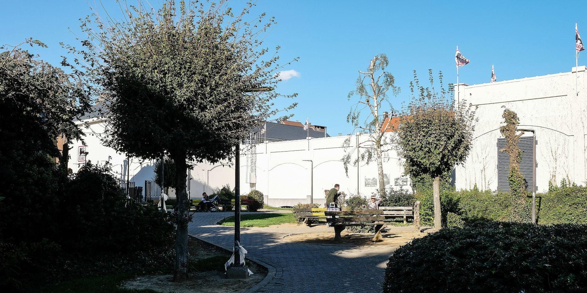 Eglise Place Parc St Antoine Etterbeek Bruxelles