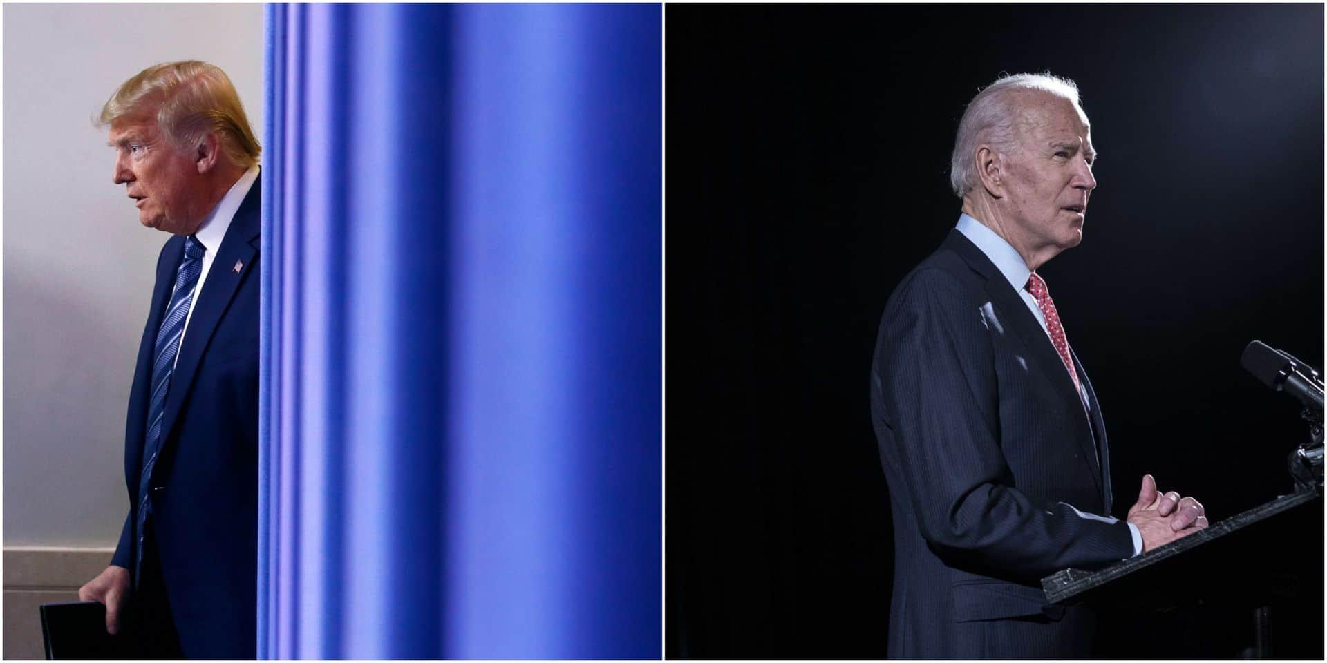 Biden et Trump se sont appelés pour parler du coronavirus