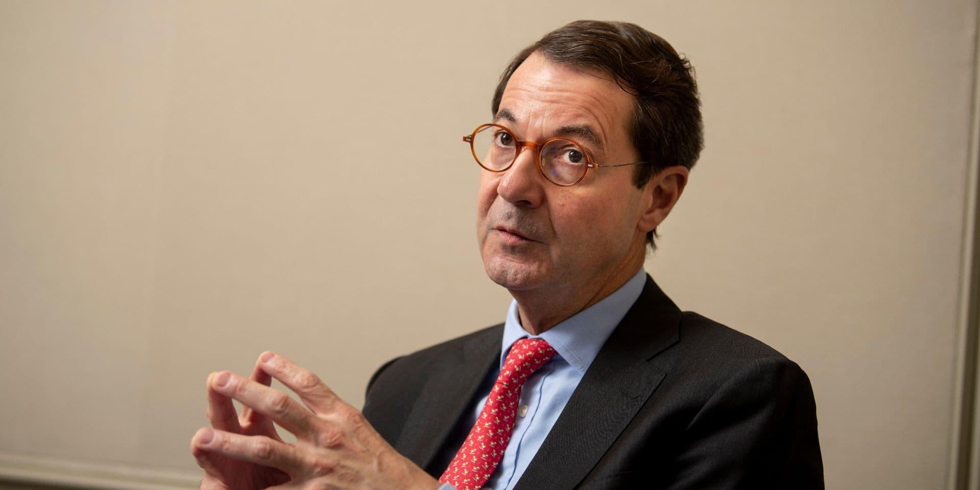 Bruno Colmant, CEO de Degroof Petercam.