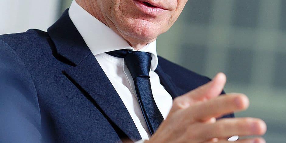table ronde entre les patrons des 4 grandes banques belges - Marc Raisiere (Belfius)