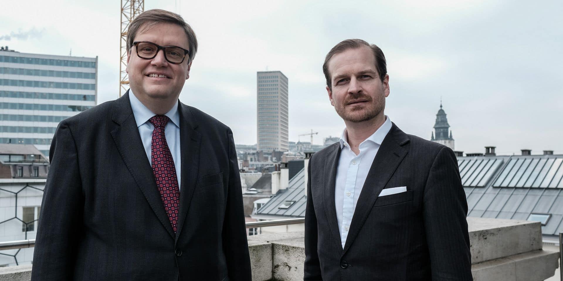 Gaetan Van Goidsenhoven et Geoffroy Coomans