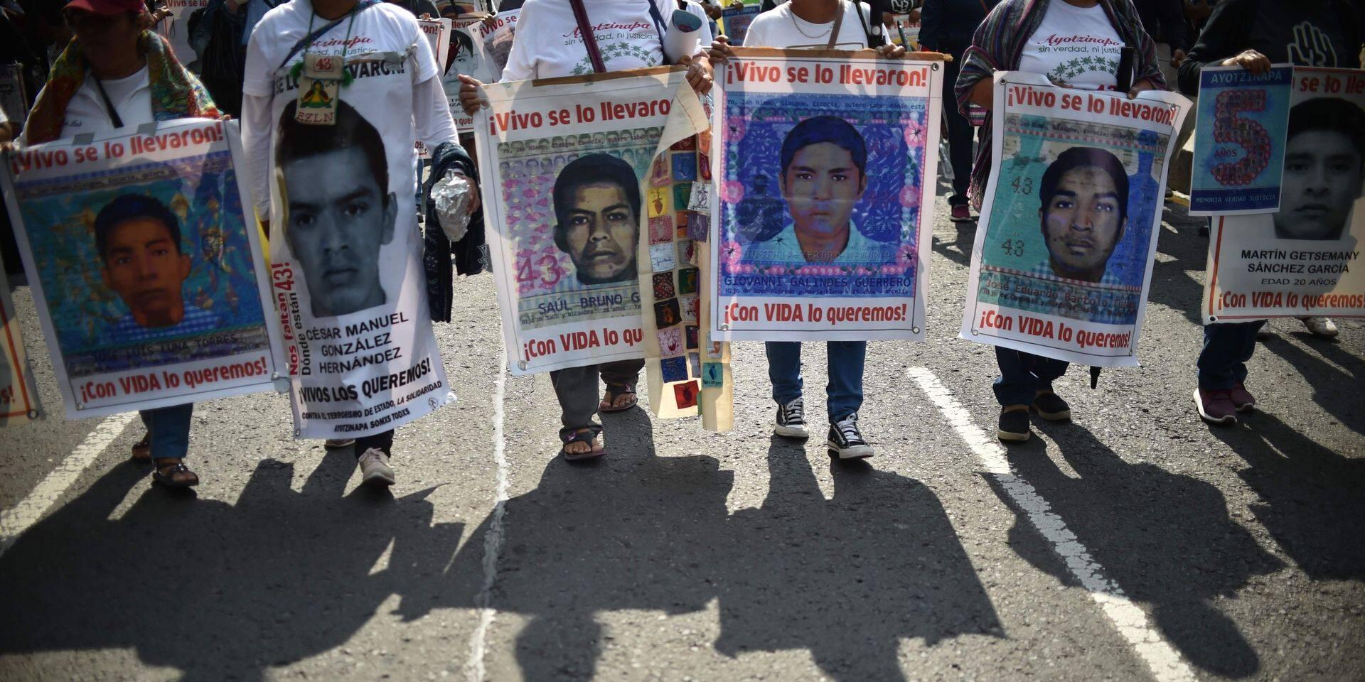 L'enquête sur la disparition des 43 étudiants au Mexique rebondit
