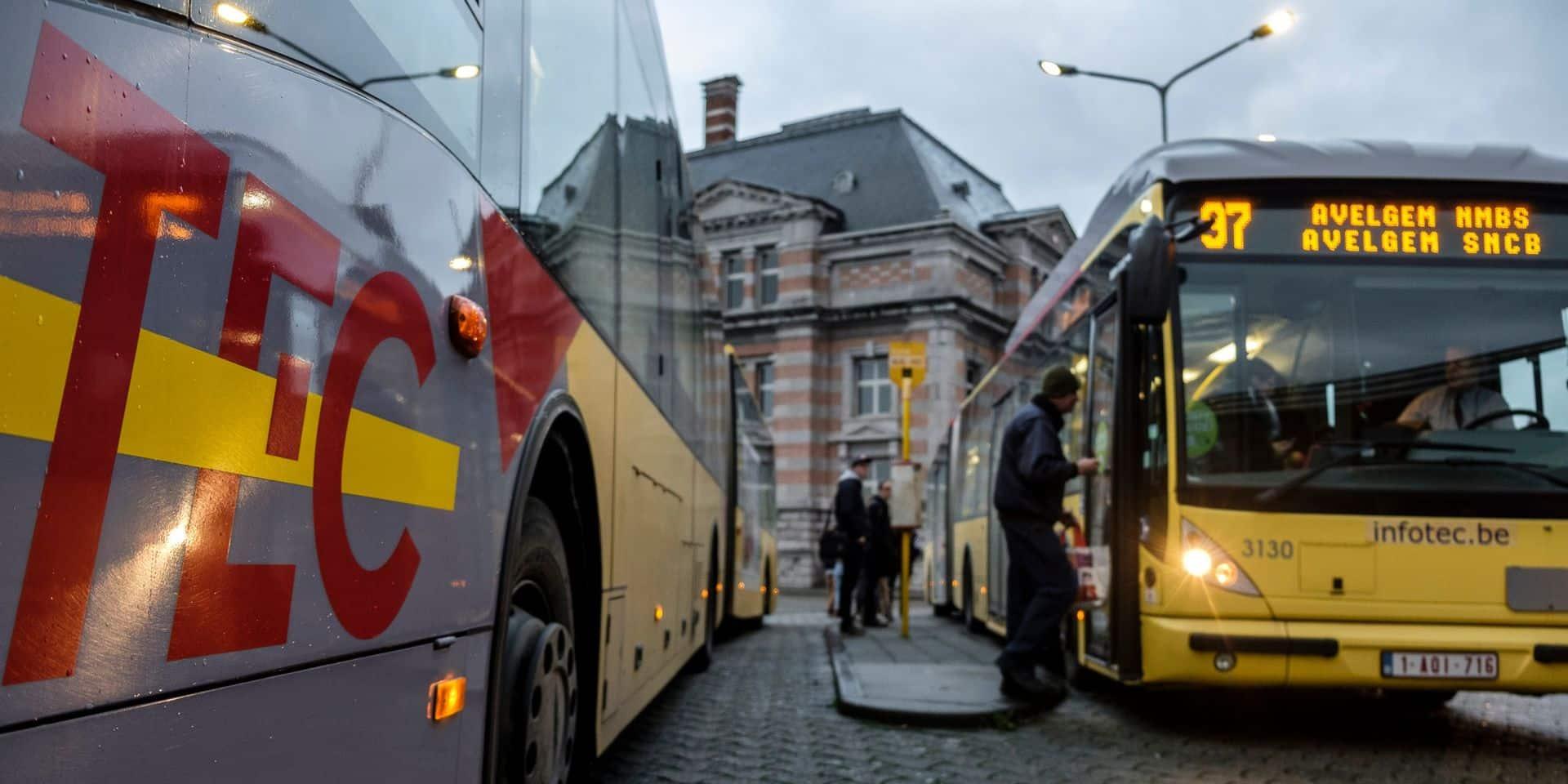 Plus de places dans les bus, retards systématiques : le service déplorable des TEC