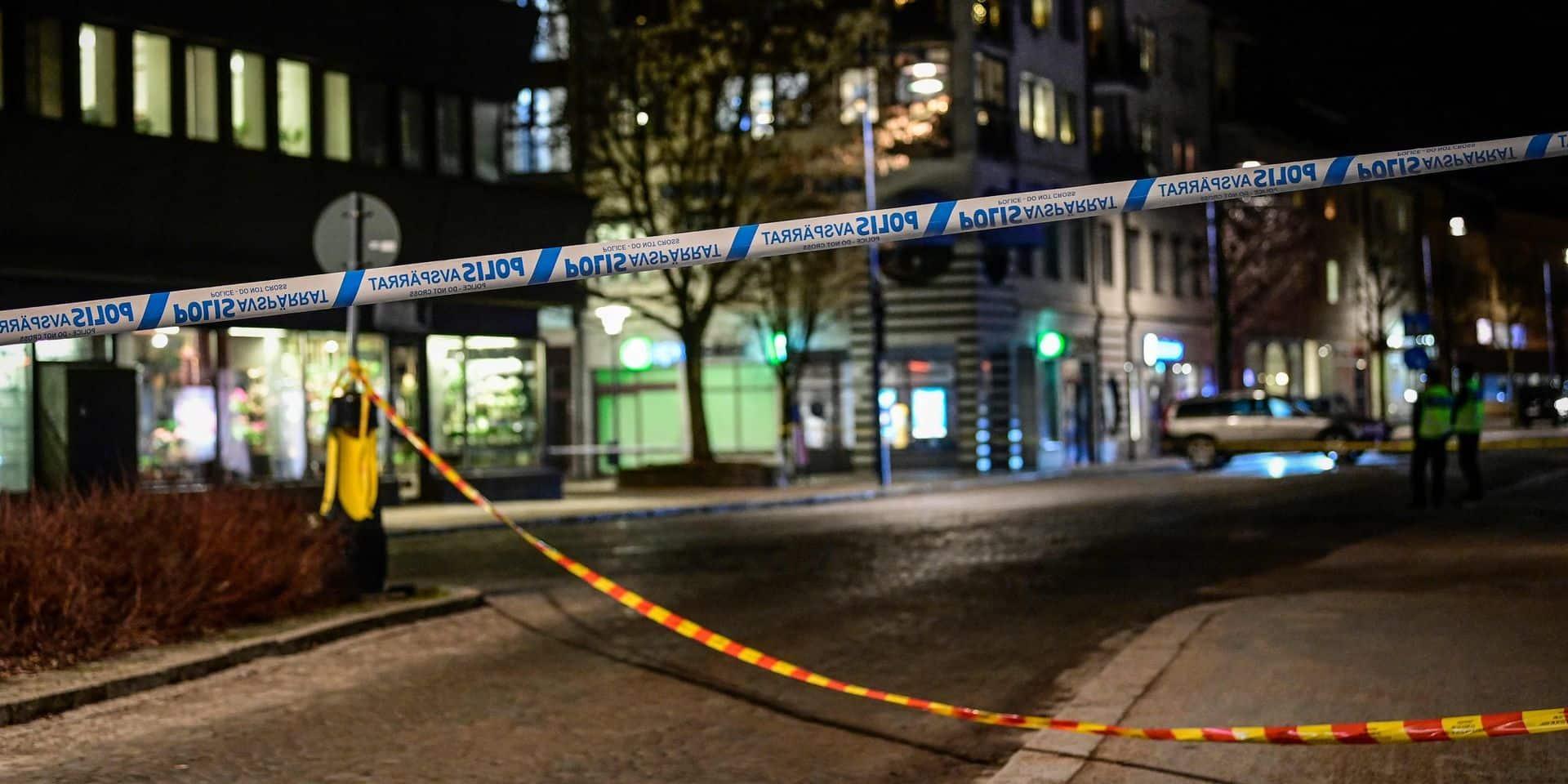 Attaque à l'arme blanche en Suède: la piste terroriste écartée