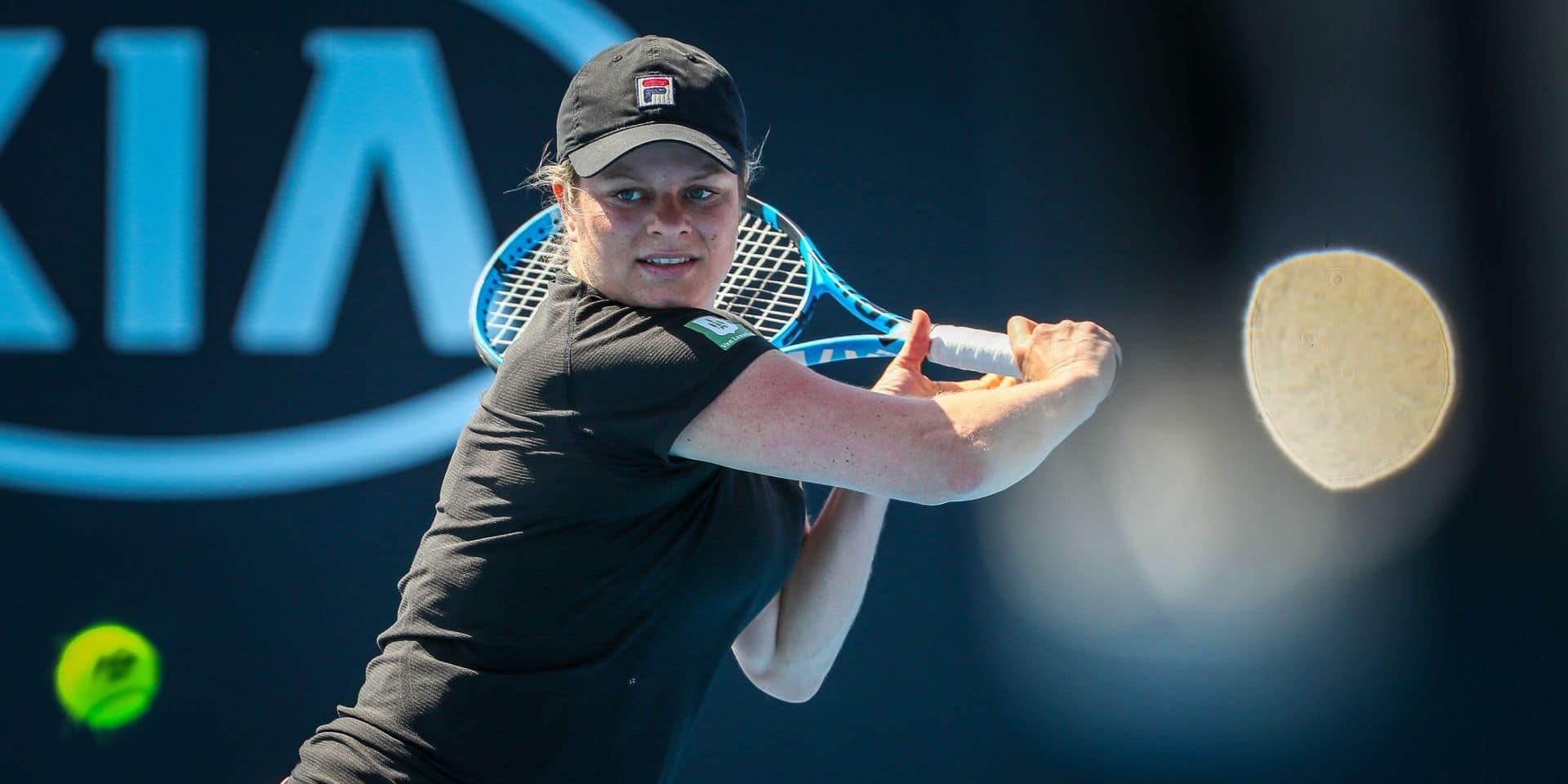 Kim Clijsters reporte son come-back: blessée au genou, elle déclare forfait pour l'Open d'Australie
