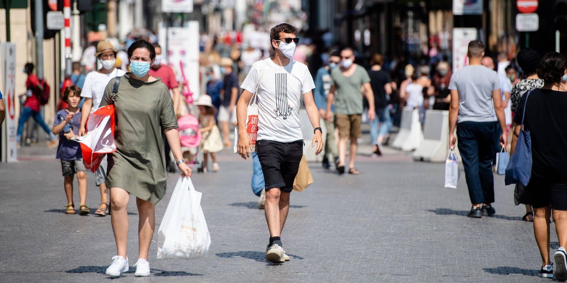 Bruxelles: le port du masque ne sera plus obligatoire, sauf dans certaines zones