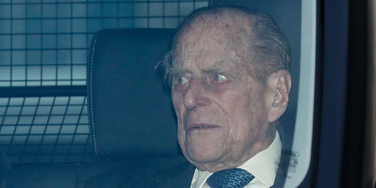 Le prince Philip a dû s'entretenir avec la police