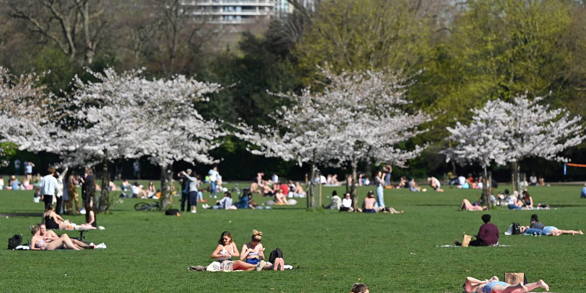 Les Londoniens ont retrouvé le chemin de leurs parcs.