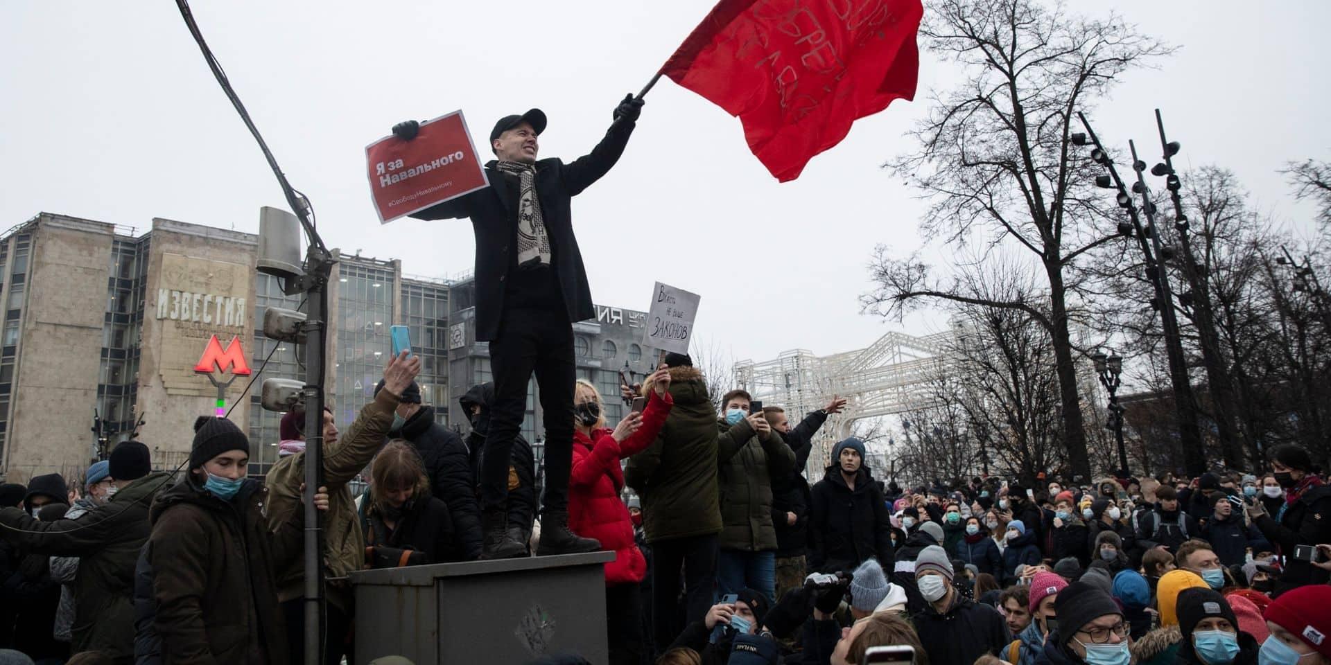 Amendes plus lourdes, nouvelles sanctions...: les manifestations de plus en plus contrôlées en Russie