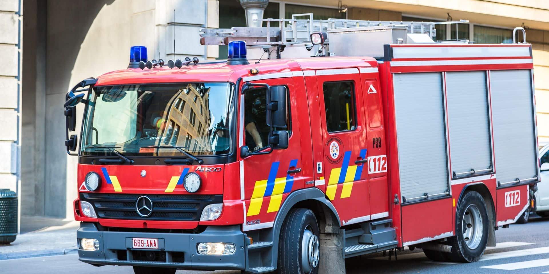 Un violent incendie s'est déclaré dans le monastère de Heule
