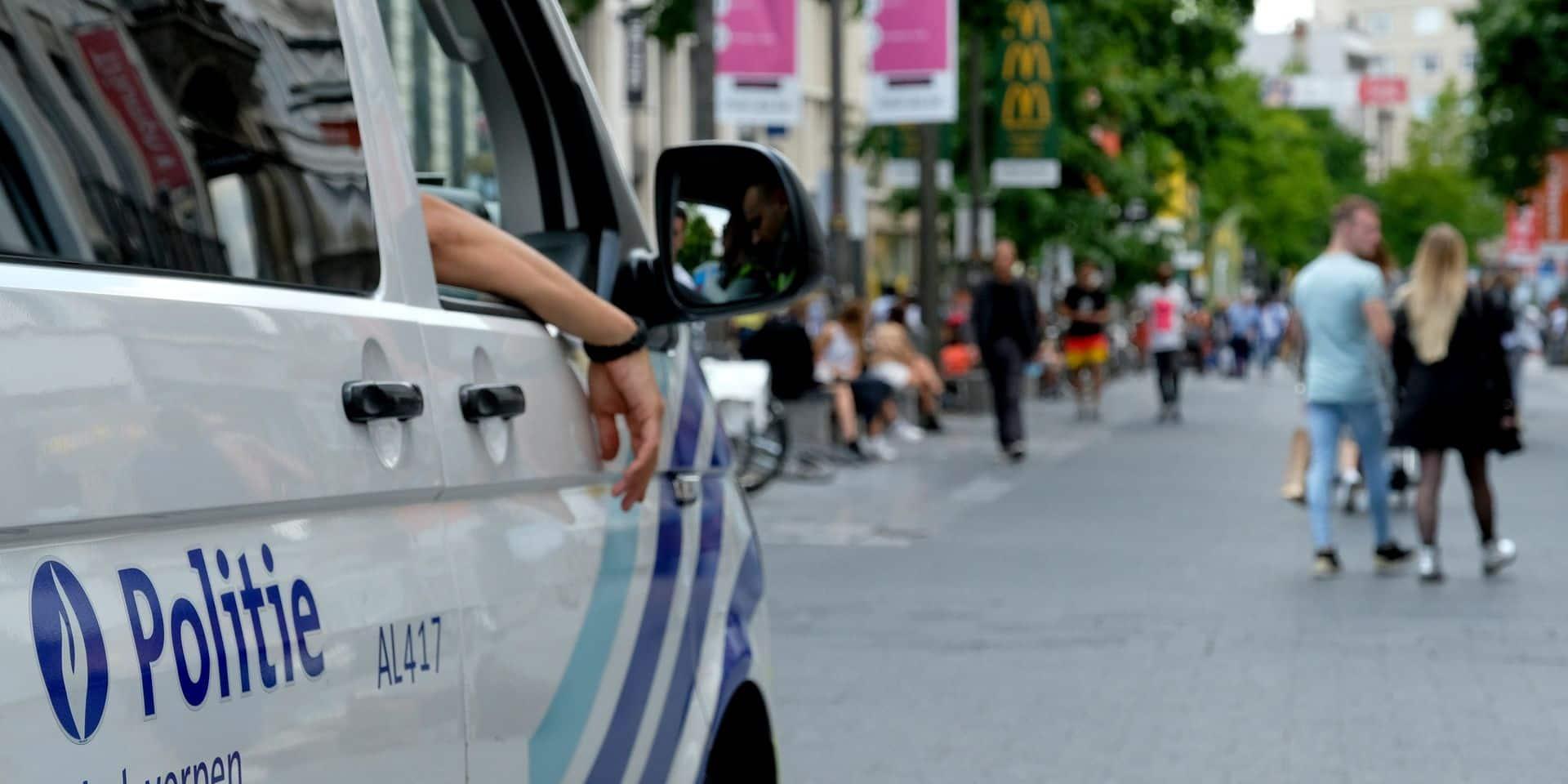 Plusieurs hommes armés appréhendés lors d'un contrôle de police à Anvers