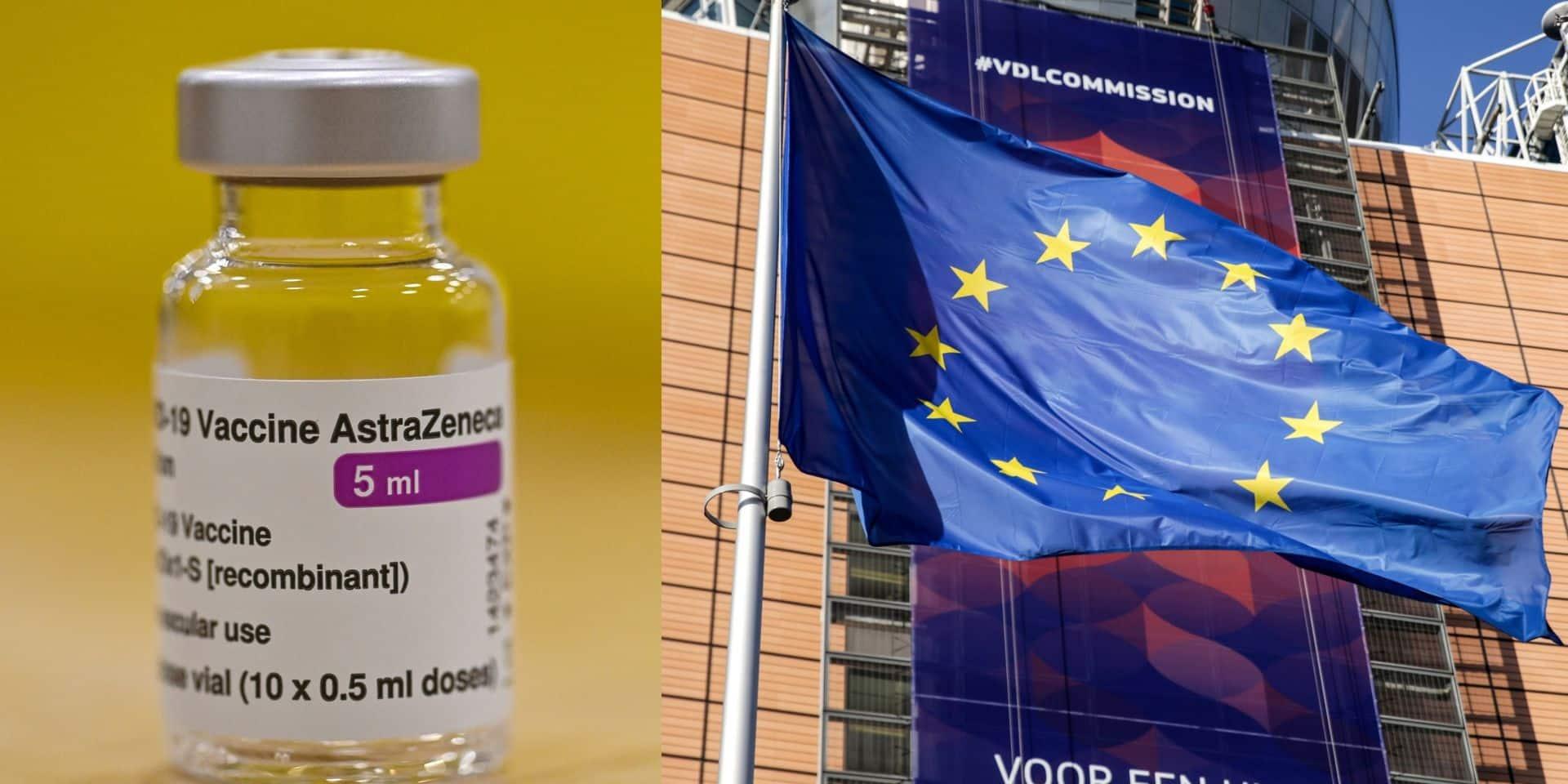 AstraZeneca et l'UE s'expliqueront le 26 mai devant la justice belge