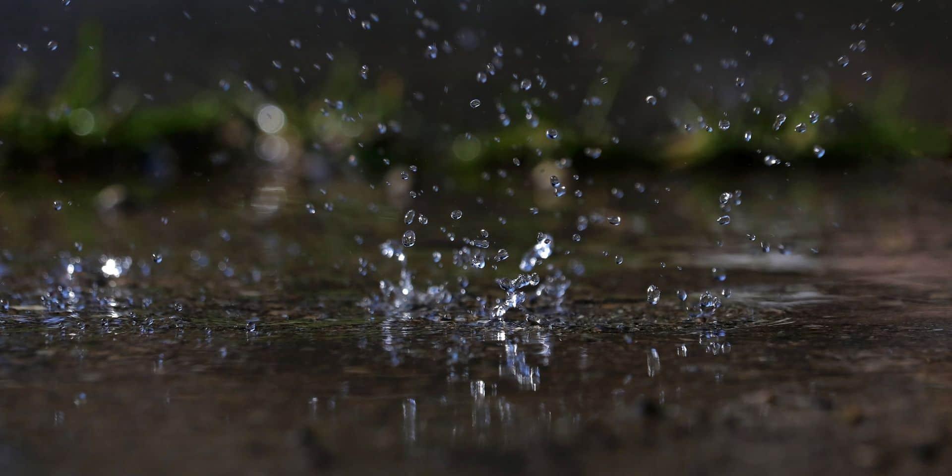 Météo: des pluies intenses attendues en provinces de Liège, Namur et Luxembourg