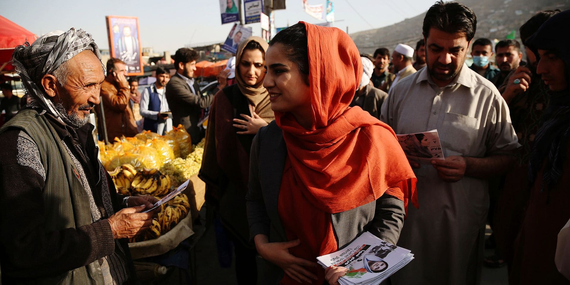 AFGHANISTAN-KABUL-FEMALE-ELECTION CANDIDATES