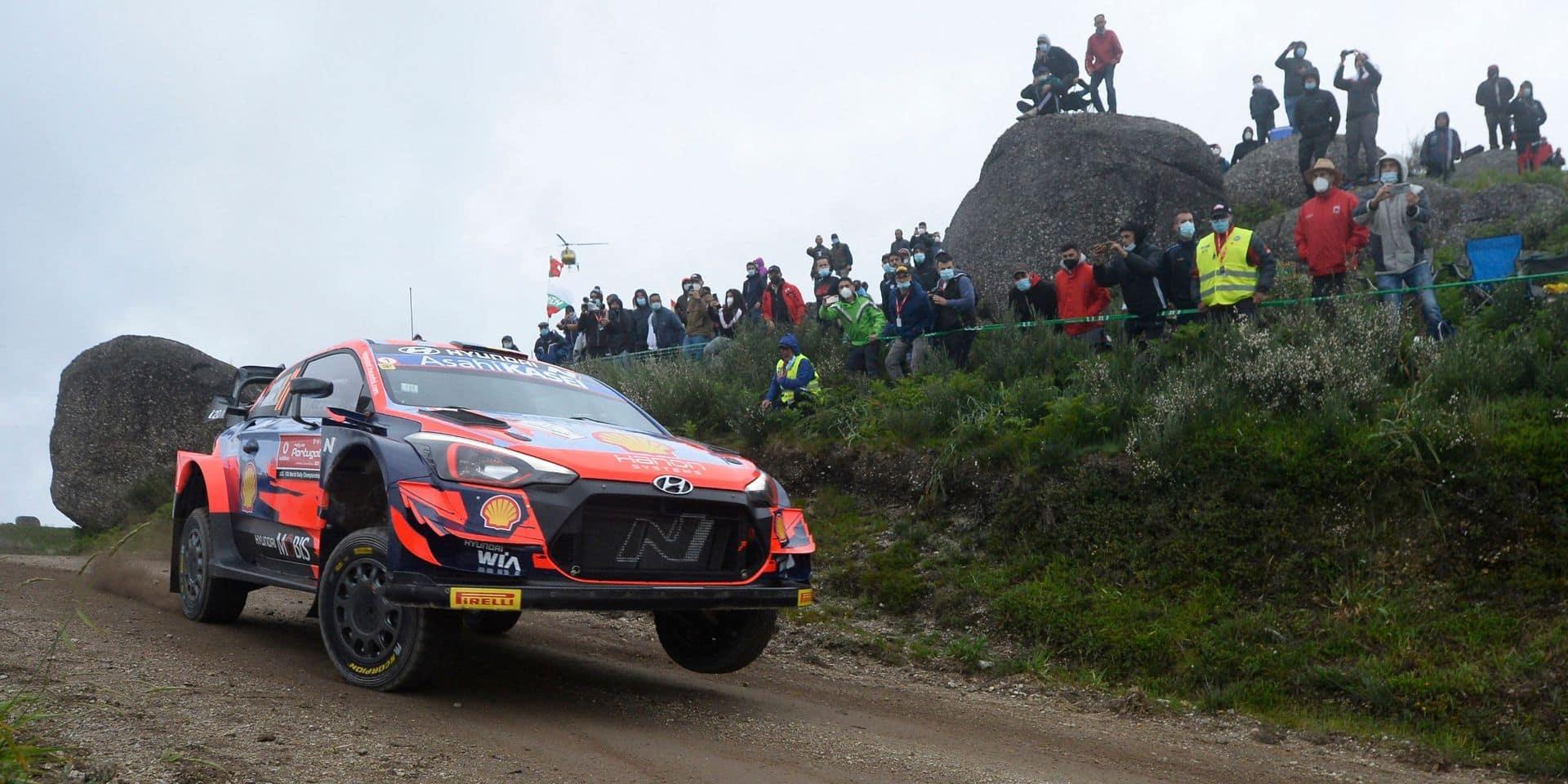 Rallye du Portugal: Hyundai retire Thierry Neuville de la course