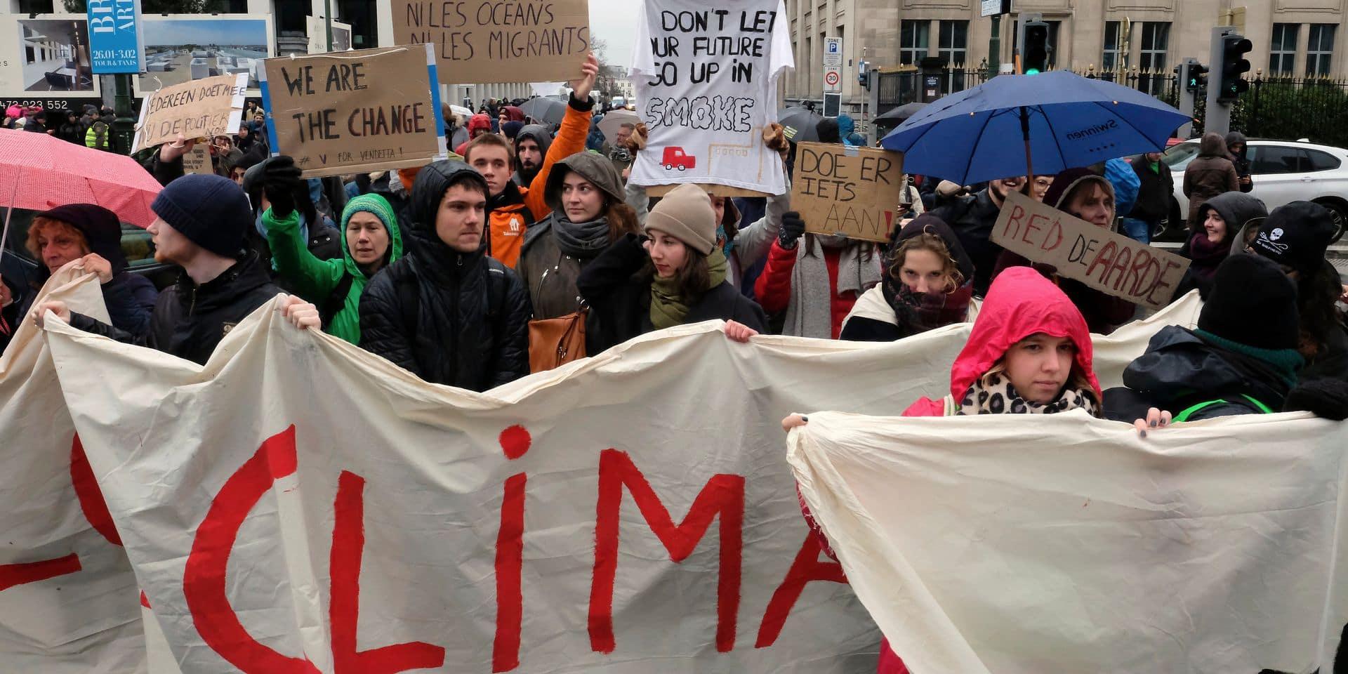 """La """"loi climat"""" divise assez nettement l'échiquier politique entre francophones et néerlandophones"""