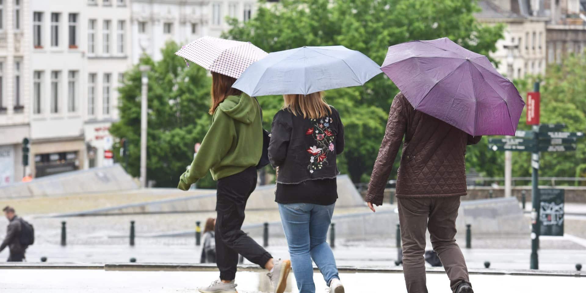 Météo: sortez les parapluies ces mardi et mercredi!