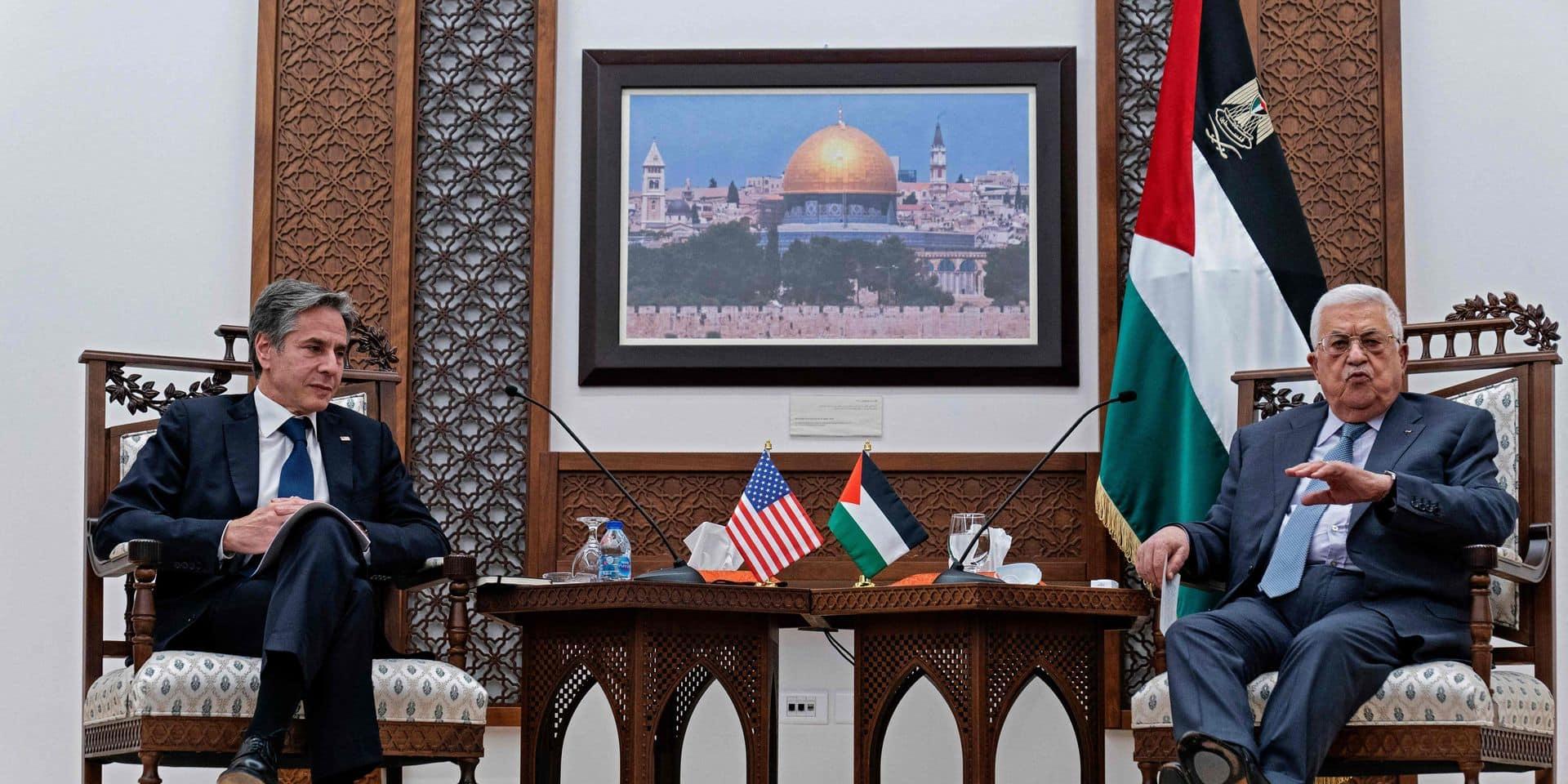 En visite à Ramallah et Jérusalem, le secrétaire d'Etat américain en quête de confiance auprès des deux camps