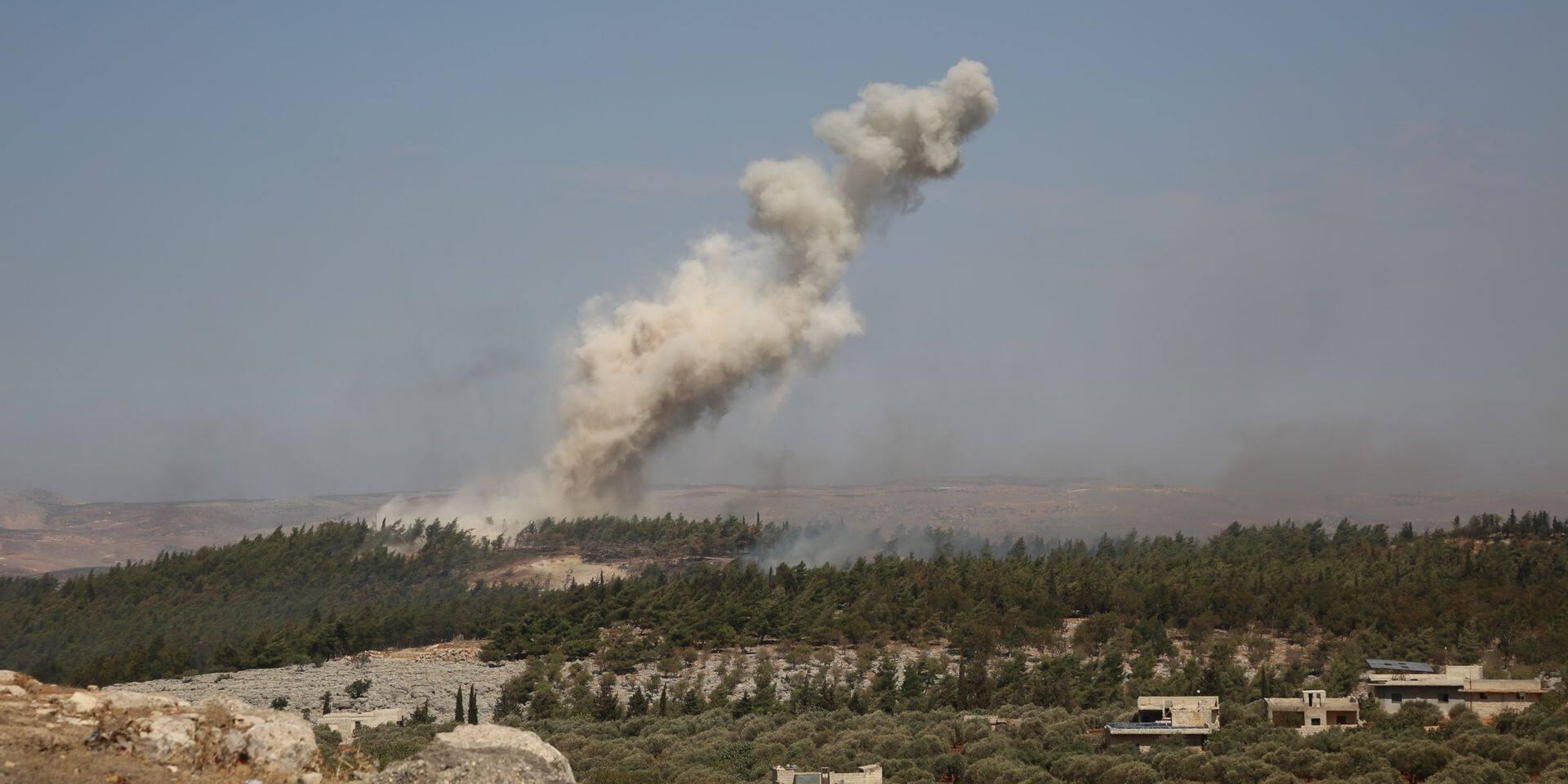 """Syrie : Moscou dit avoir tué """"environ 200 combattants"""" lors d'un bombardement"""