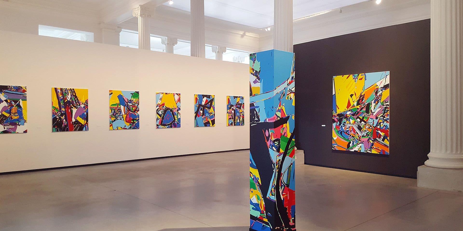 Les 40 ans de peinture de Luis Salazar exposés au musée La Boverie