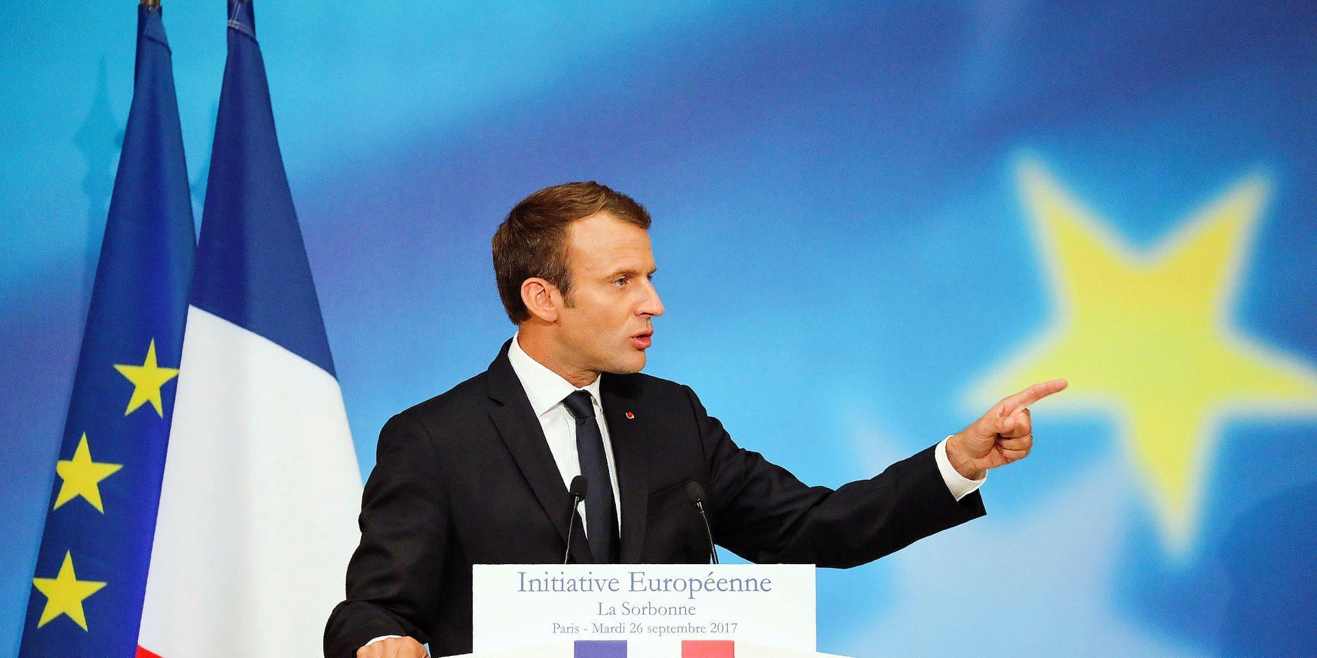 Macron secoue le cocotier européen