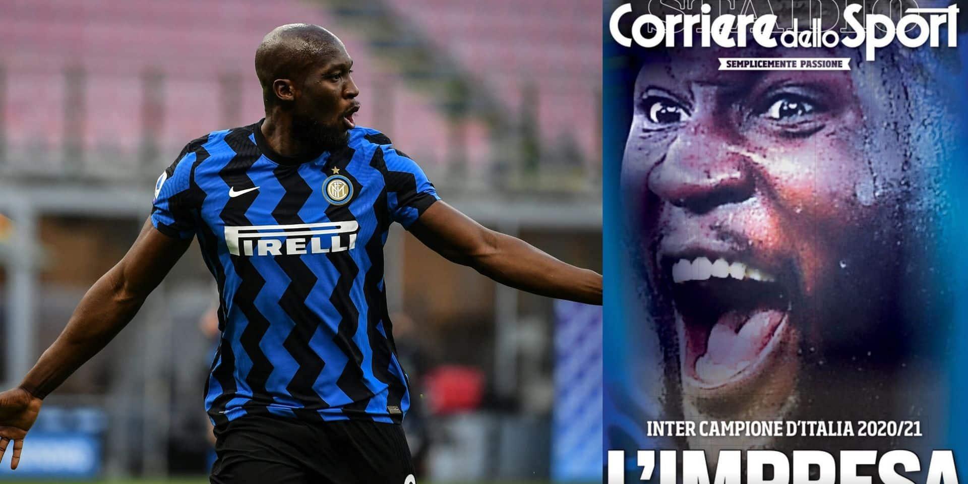 """Romelu Lukaku encensé par la presse italienne après le sacre de l'Inter : """"S'il n'est pas un leader, alors il n'y a pas de leader dans le football"""""""