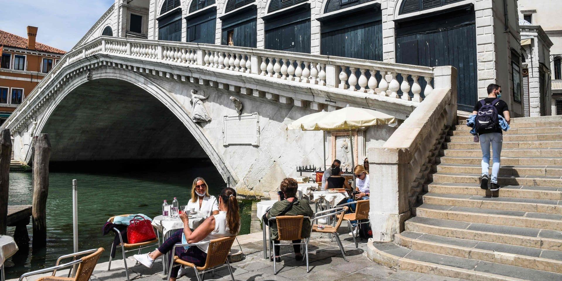 En Italie, les touristes sont de retour à Venise