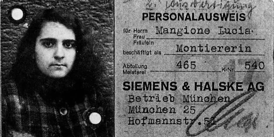 Une Italienne de 18 ans dans l'enfer nazi
