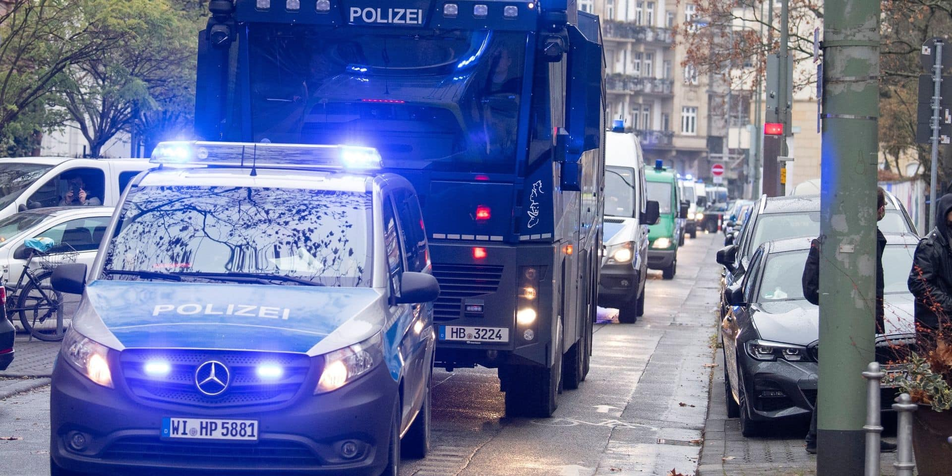 Allemagne: un mouvement opposé au confinement dans l'œil des services de renseignement