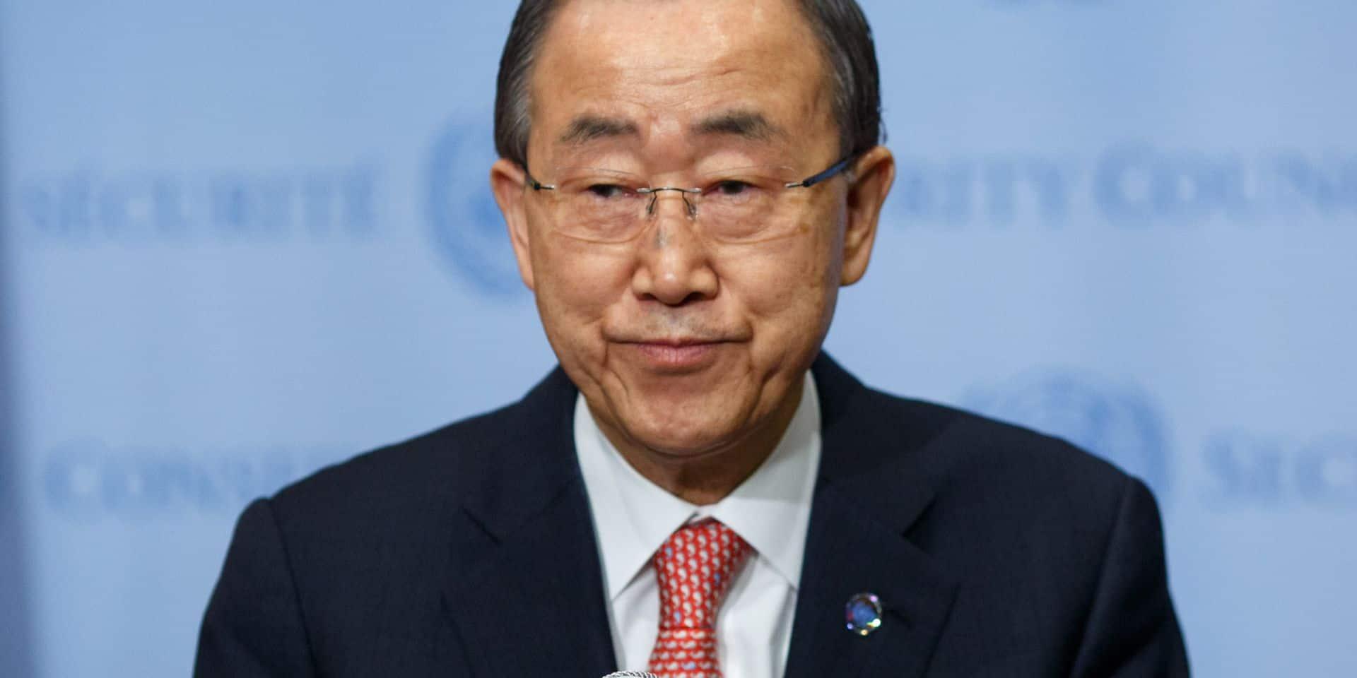 """Le monde a atteint """"un point de non retour"""" en matière de changement climatique, avertit Ban Ki-moon"""