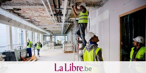 © Marlene Awaad / IP3; Paris, France le 27 octobre 2014 - Chantier de rehabilitation de l ensemble immobilier #cloud.paris.