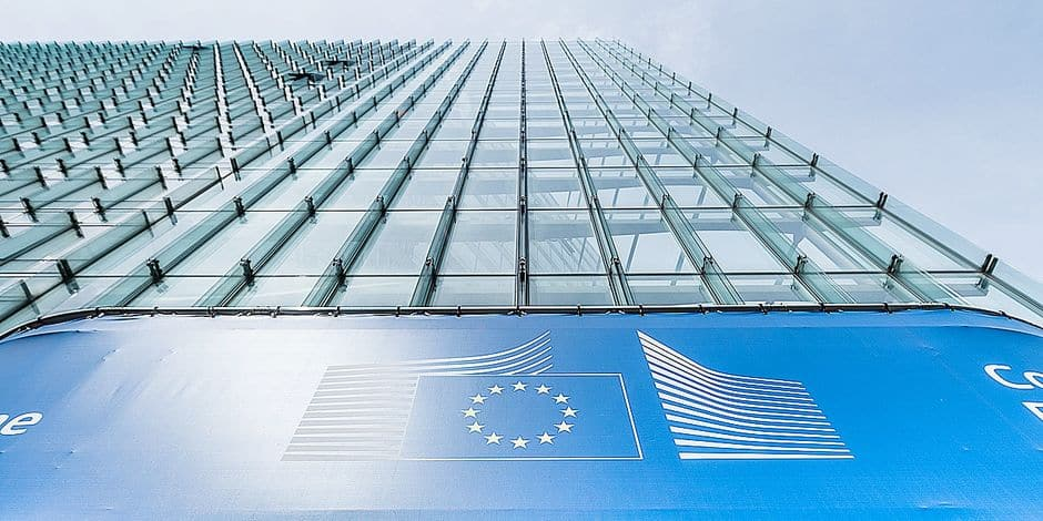 20150511 - BRUSSELS, BELGIUM: Illustration picture shows the headquarters of the European Commission, on Monday 11 May 2015 in Brussels. BELGA PHOTO SISKA GREMMELPREZ