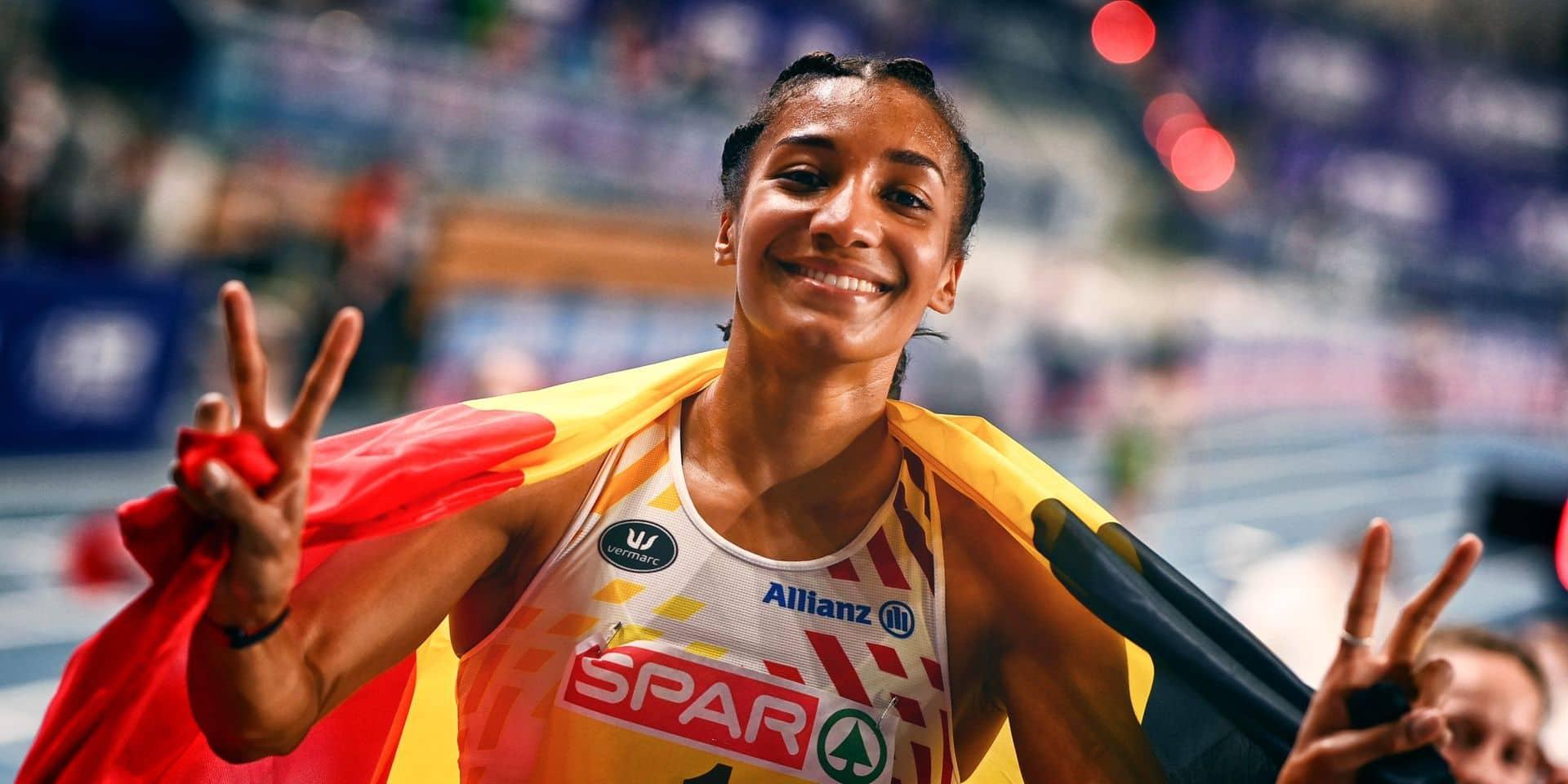 """Championnats d'Europe d'athlétisme en salle: """"Le résultat de douze mois de travail"""", se réjouit Nafi Thiam"""
