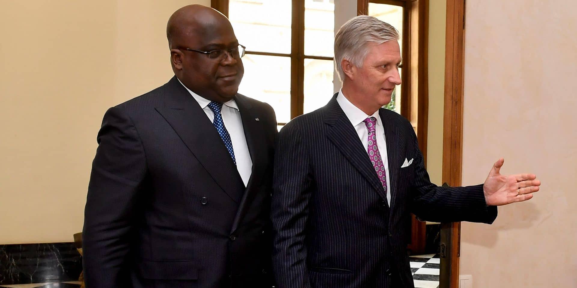 """Le roi Philippe exprime ses """"regrets"""" au président congolais. Pourquoi pas (encore) des excuses ?"""