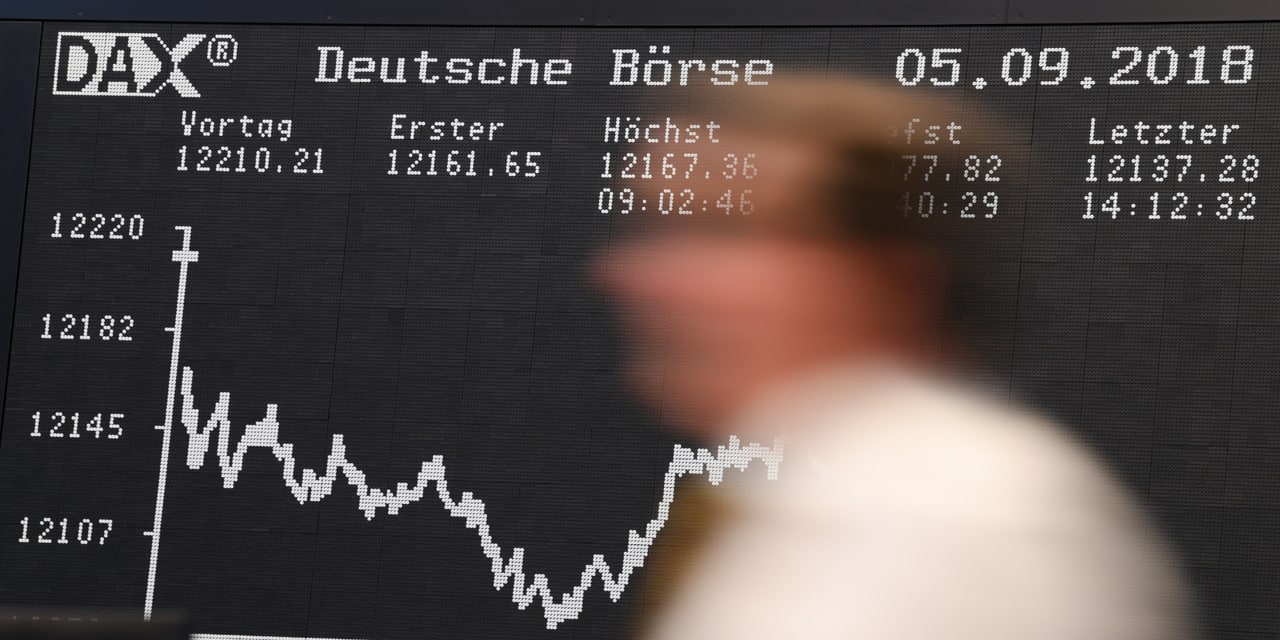 """L'oeil du marché: """"Plus les Etats-Unis cognent sur la Chine, plus les marchés européens sous-performent"""""""