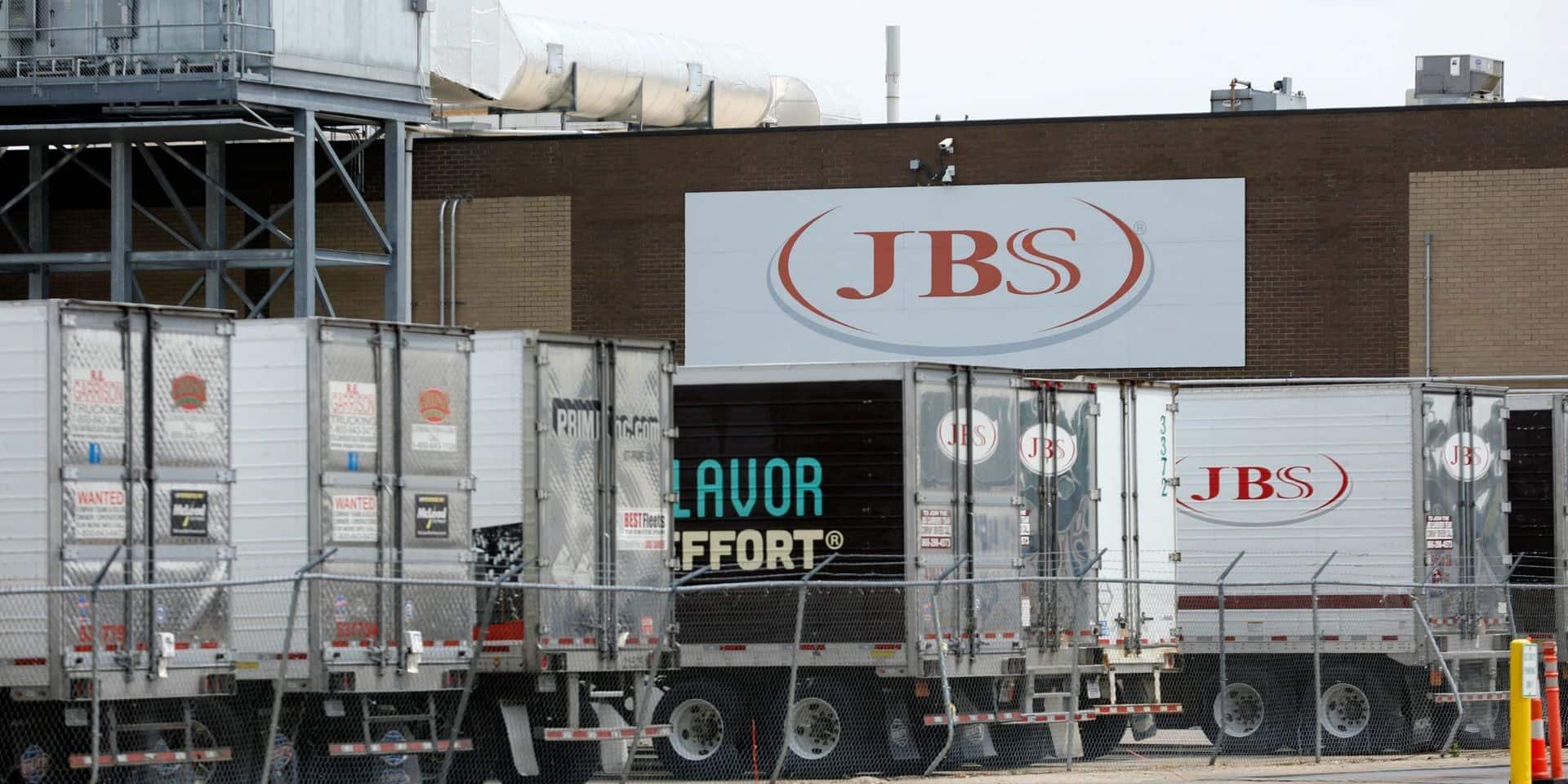 Le géant mondial de la viande JBS a payé une rançon de 11 millions de dollars à des hackeurs