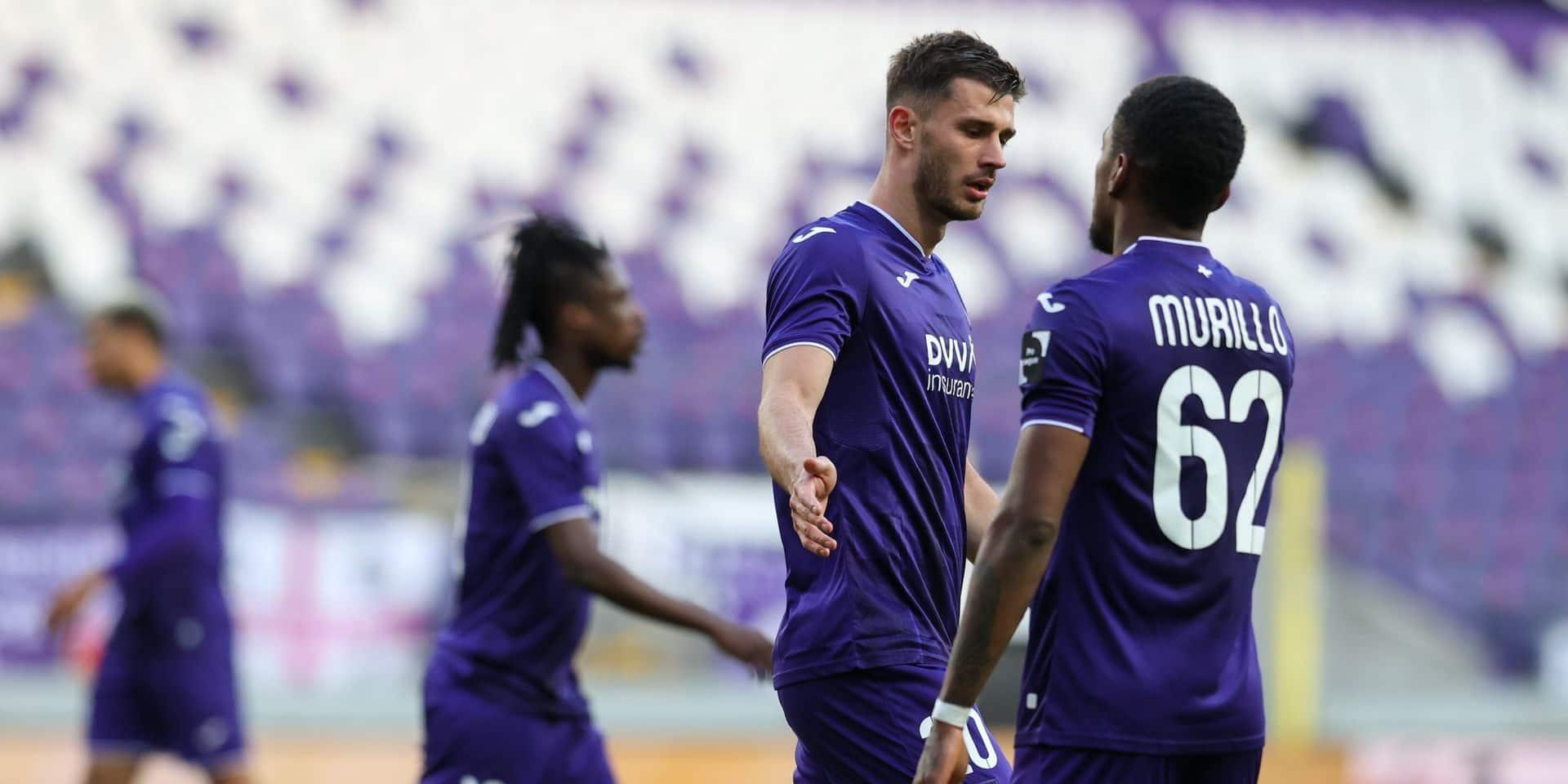 Anderlecht arrache un point dans les arrêts de jeu face à l'Antwerp dans une rencontre à rebondissements (2-2)