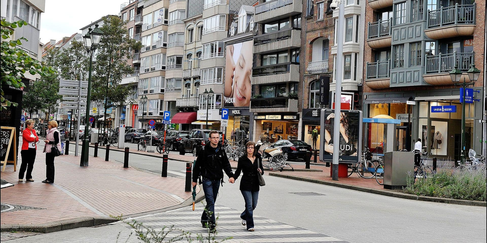 PICTURES : winkelstraten Knokke Lippenslaan PICTURES NOT INCLUDED IN THE CONTRACTS