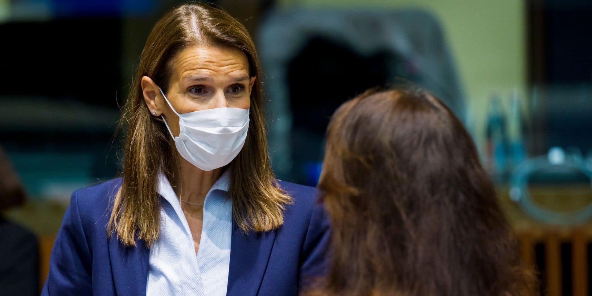 Le top de la diplomatie belge ne compte que 11% de femmes: Sophie Wilmès veut du changement